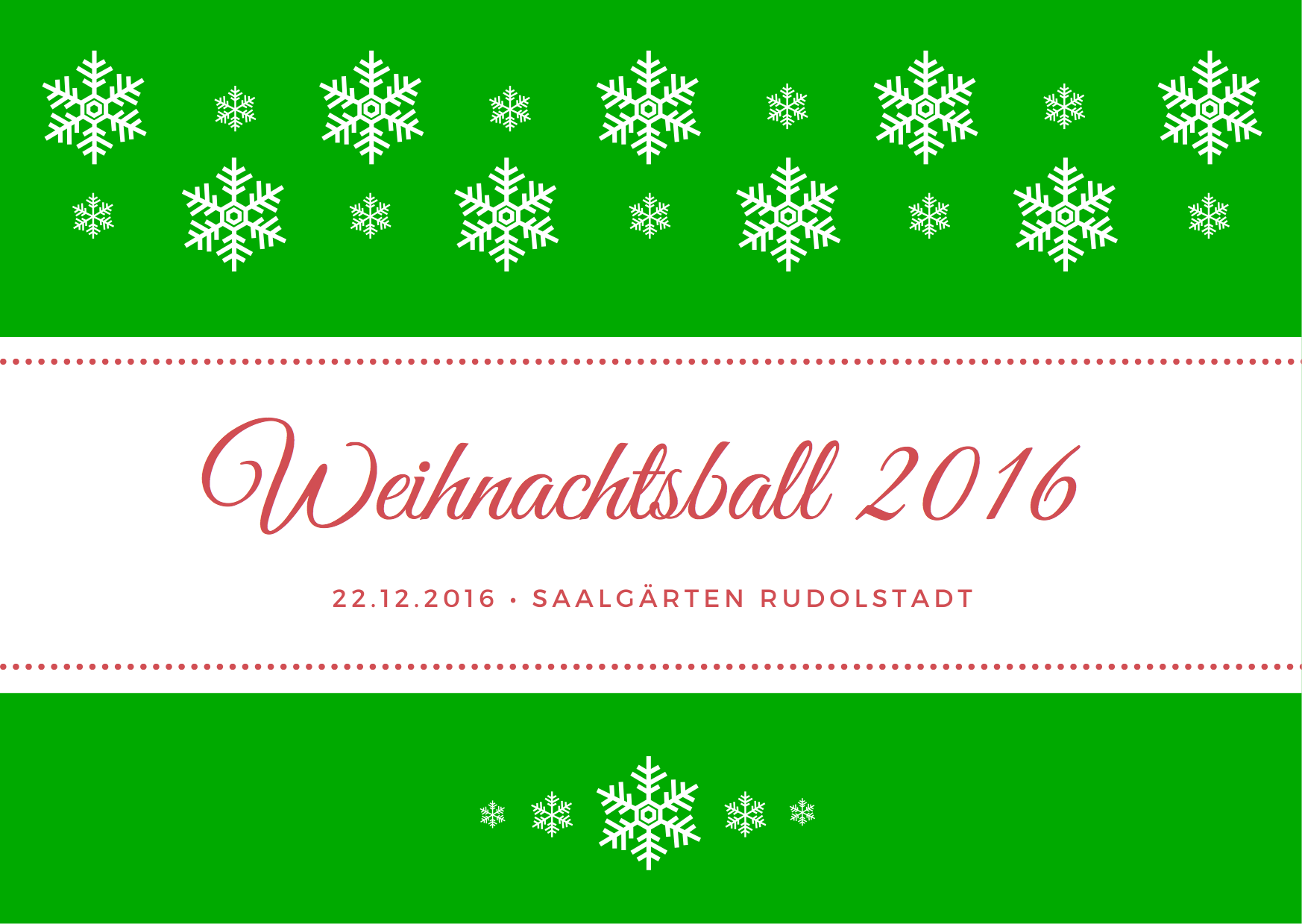 Weihnachtsball 2016