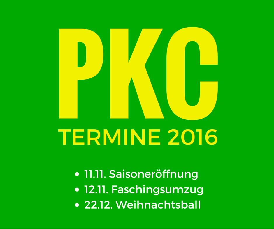 PKC – Termine 2016