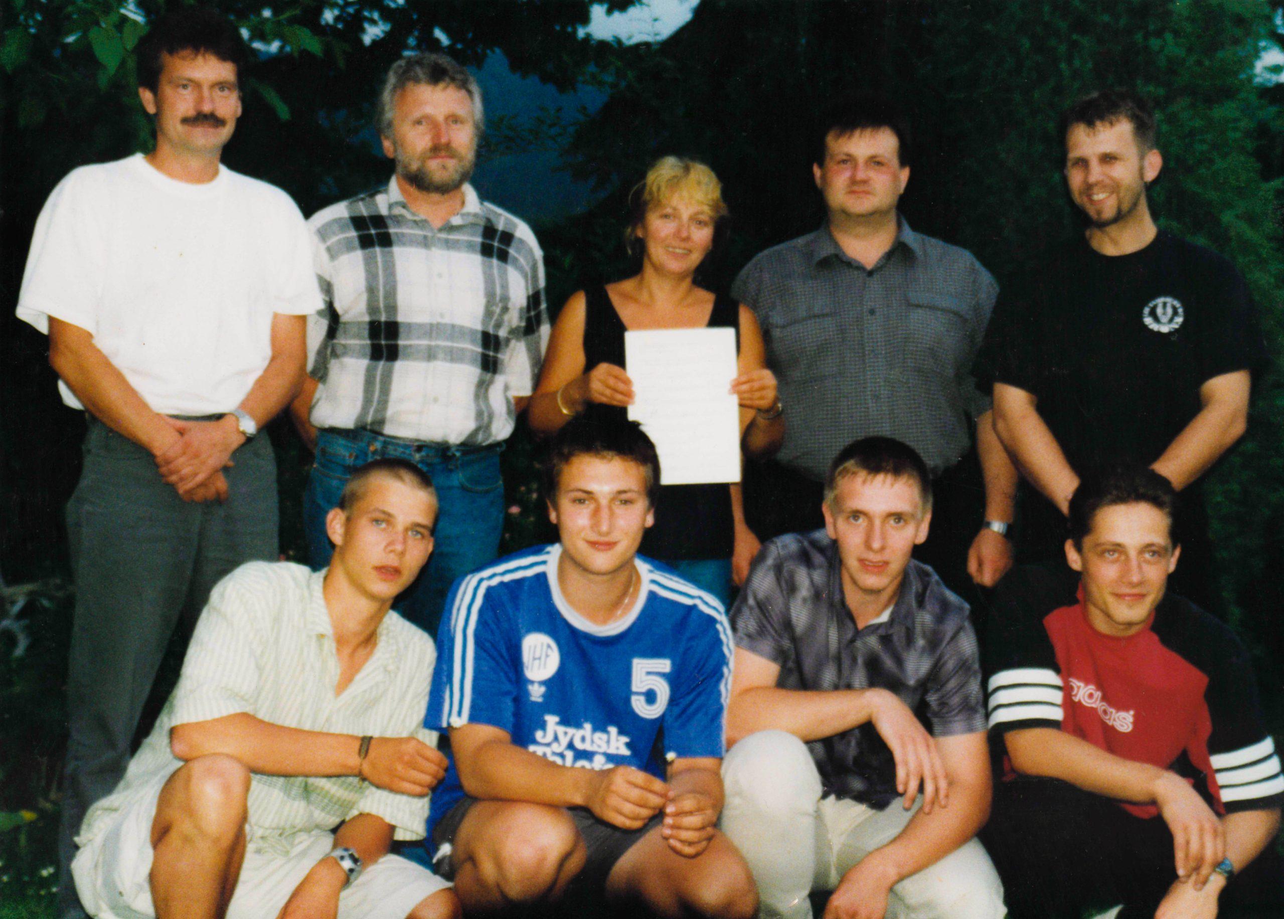 Die Gründungsmitglieder des PKC Ehrenräte e.V.